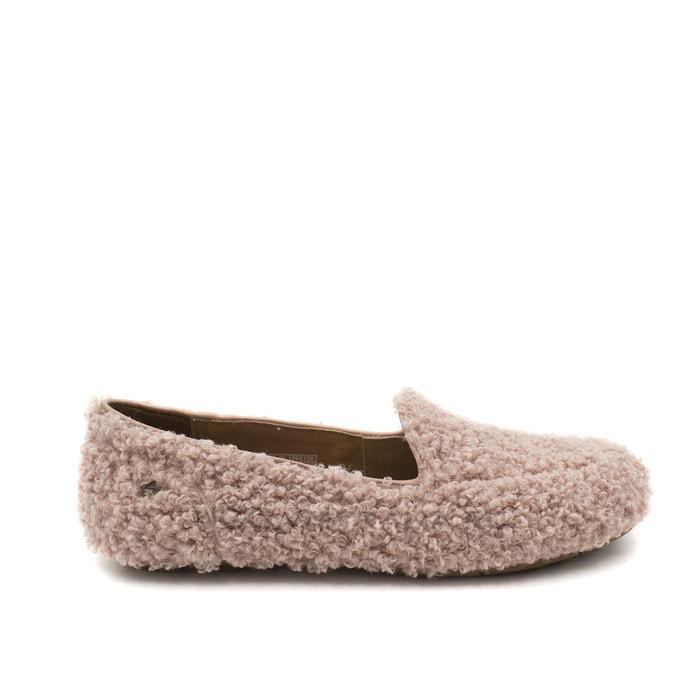 Женские мокасины UGG Hailey Fluff Loafer Pink