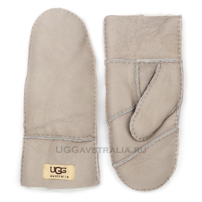 Женские варежки UGG Mitten Grey