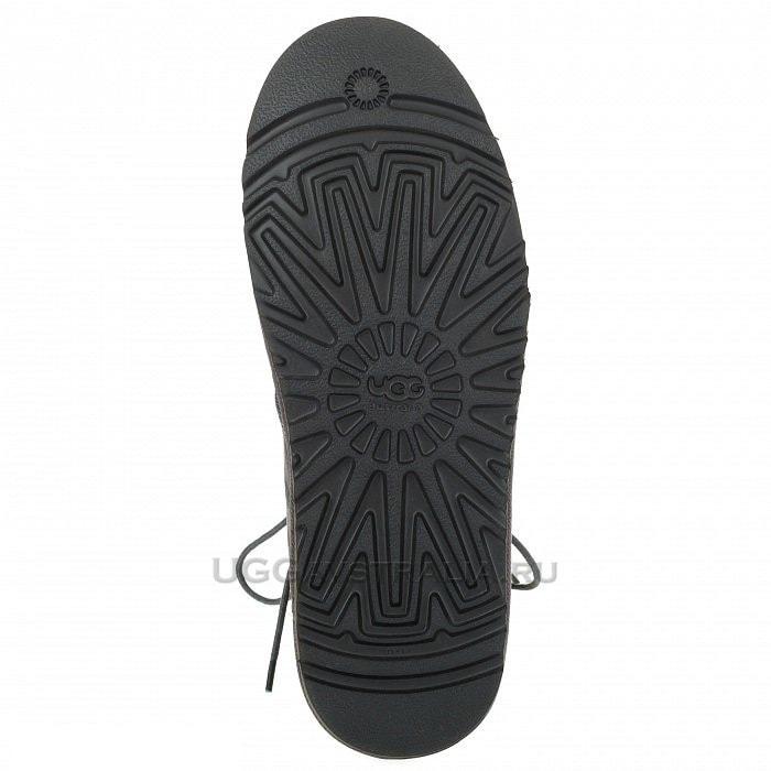 Мужские ботинки UGG Mens Neumel Leather Grey
