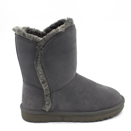 Угги UGG Classic Short Fluff High-Low Grey
