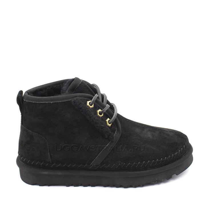Женские ботинки UGG Neumel Stitch Black