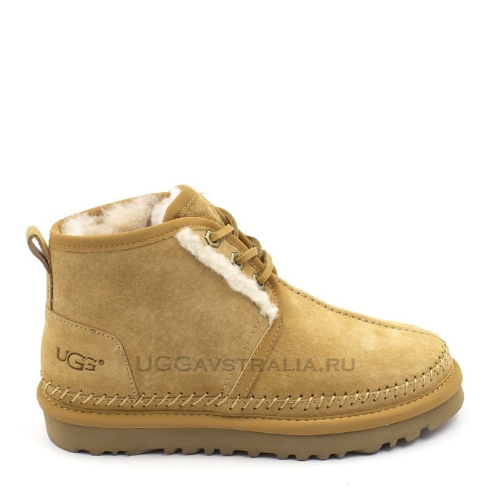 Женские ботинки UGG Neumel Stitch Chestnut