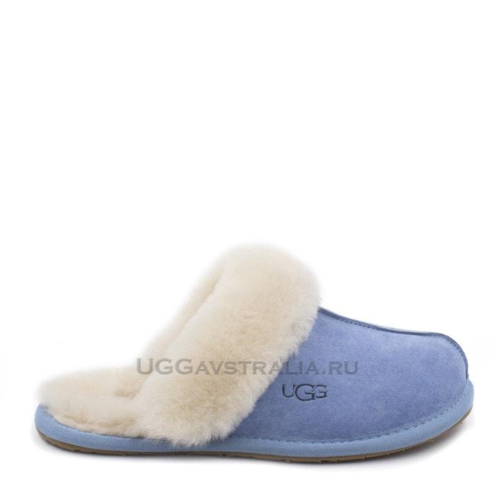 Женские тапочки UGG Scuffette II Blue