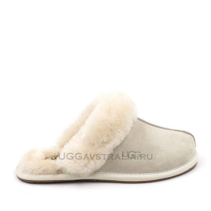 Женские тапочки UGG Scuffette II White