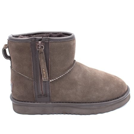 Угги UGG Classic Mini Zip Waterproof Chocolate
