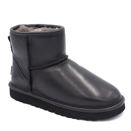 Угги UGG Classic Mini Leather Black