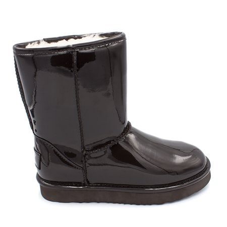 Угги UGG Jimmy Choo Short Patent II Chocolate