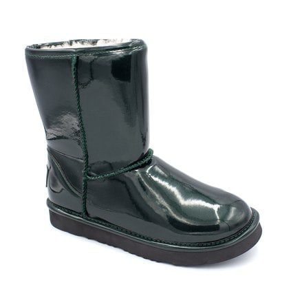 Угги UGG Jimmy Choo Short Patent II Green