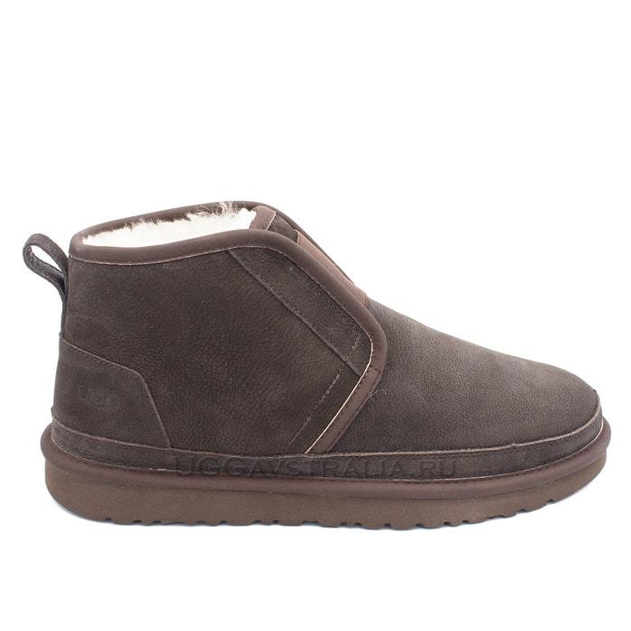 Мужские ботинки UGG Mens Neumel Flex Nubuck Chocolate