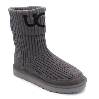 Угги UGG Classic Knit Grey
