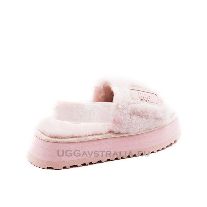 Женские тапочки UGG Disco Slide Pink