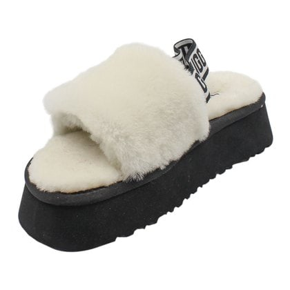Тапочки UGG Disco Slide White