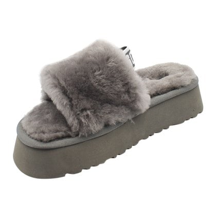 Тапочки UGG Disco Slide Grey