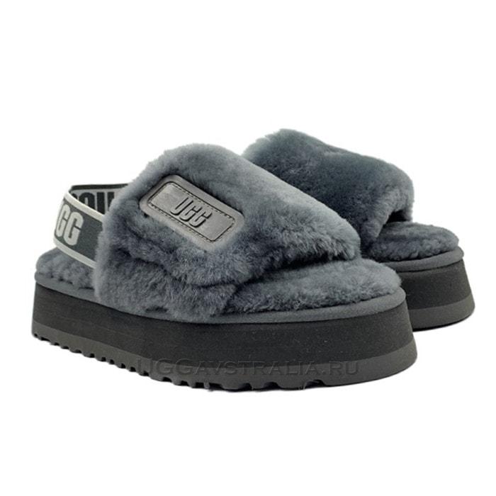Тапочки UGG Disco Slide Grey
