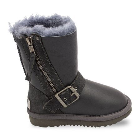 Угги UGG Kids Blaise Metallic Grey