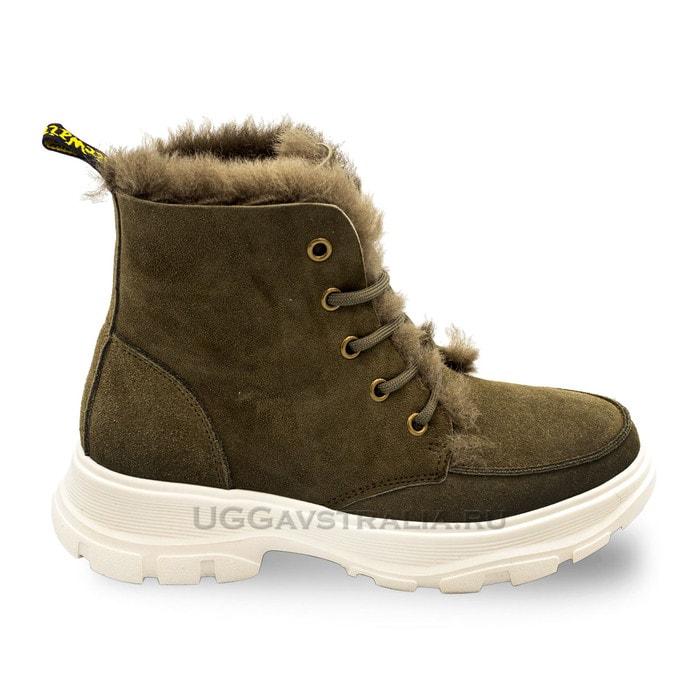 Женские ботинки UGG Bouncing Soles Khaki