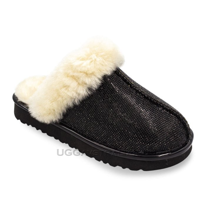 Женские тапочки UGG Coquette Slipper Serein II Black