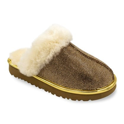 Тапочки UGG Coquette Slipper Serein II Gold