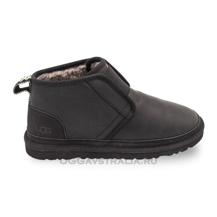 Женские ботинки UGG Neumel Flex Leather Black