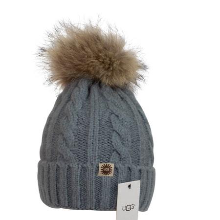 Шапка UGG Knit Pom Hat Blue