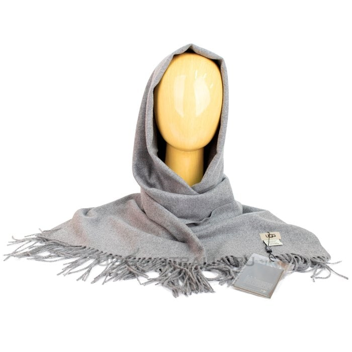 Женский шарф-палантин UGG Oversized Scarf Grey