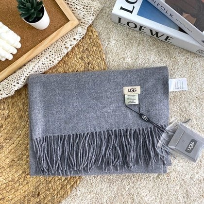 Шарф-палантин UGG Oversized Scarf Grey