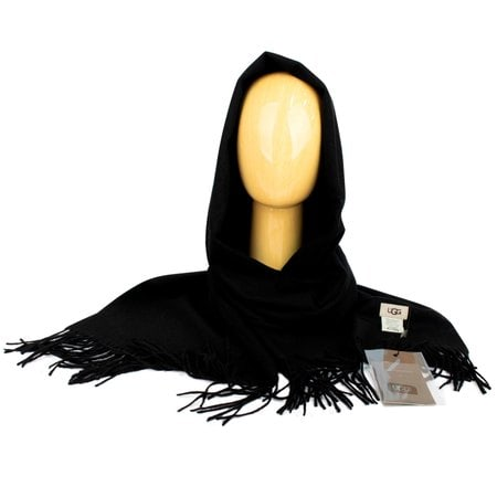 Шарф-палантин UGG Oversized Scarf Black