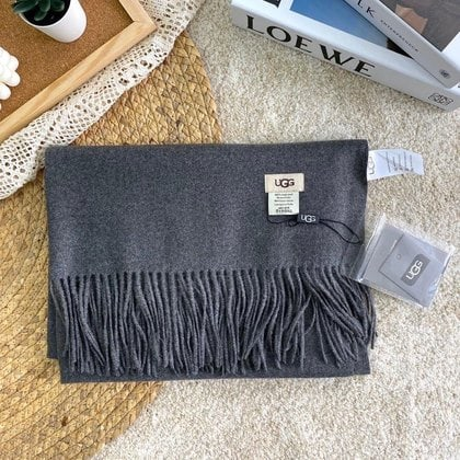 Шарф-палантин UGG Oversized Scarf Dark Grey
