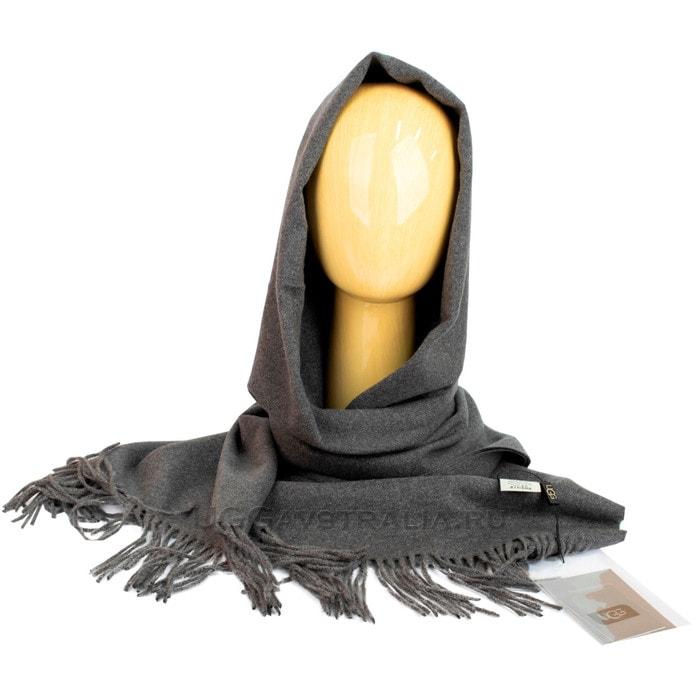 Женский шарф-палантин UGG Oversized Scarf Dark Grey
