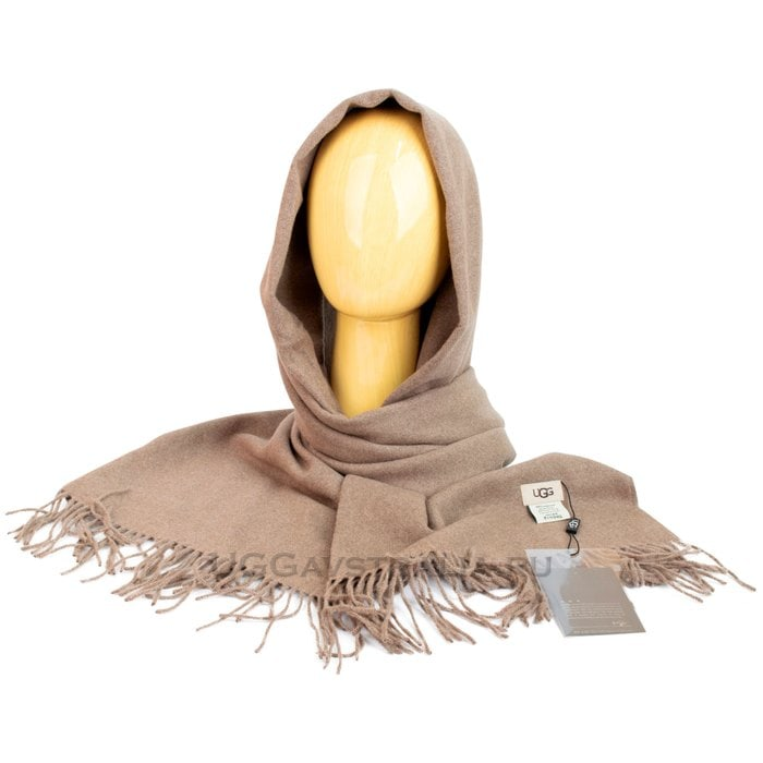 Женский шарф-палантин UGG Oversized Scarf Camel
