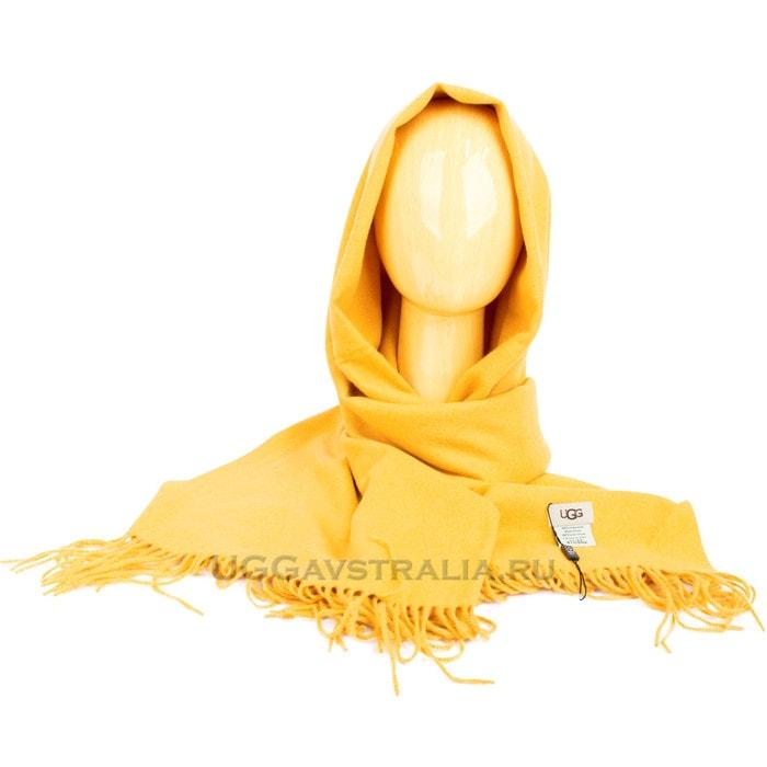 Женский шарф-палантин UGG Oversized Scarf Yellow