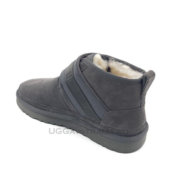 Мужские ботинки UGG Mens Neumel Snapback Grey