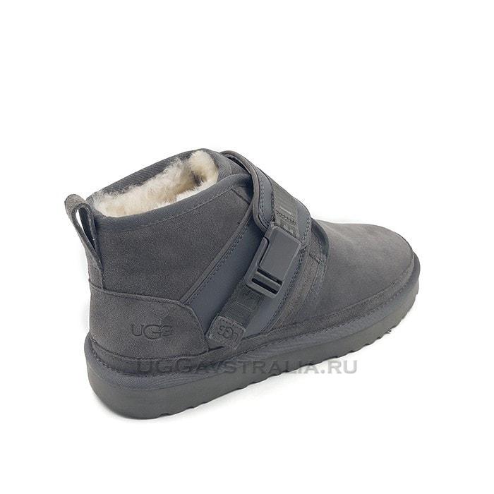 Женские ботинки UGG Neumel Snapback Grey
