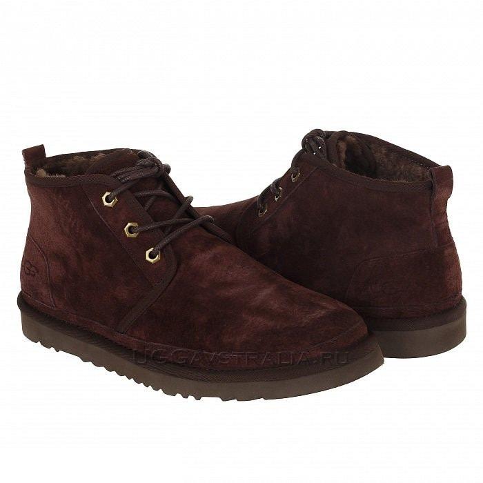 Мужские ботинки UGG Mens Neumel Boot Suede Espresso