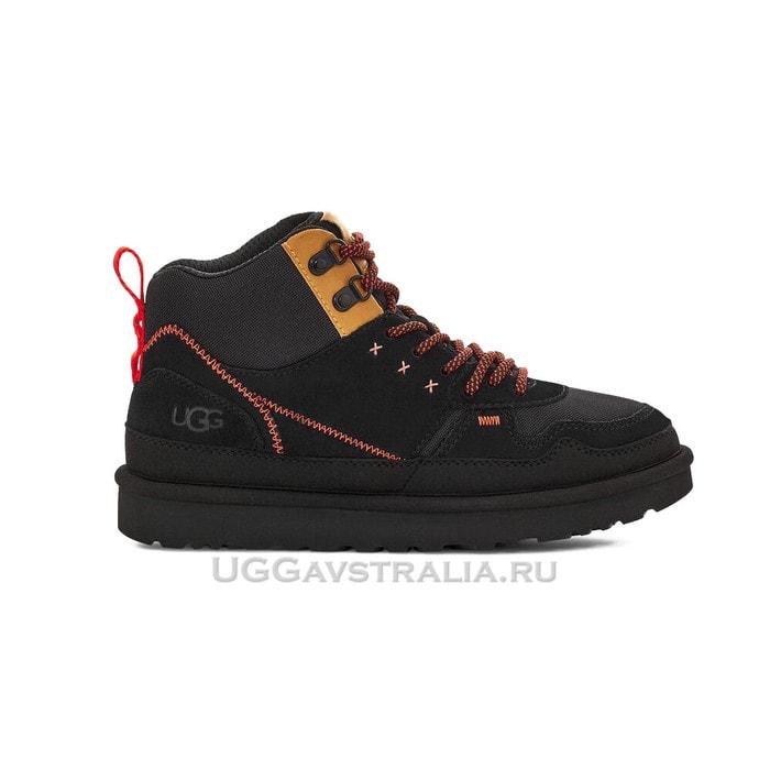 Женские кроссовки UGG Highland Hi Heritage Black