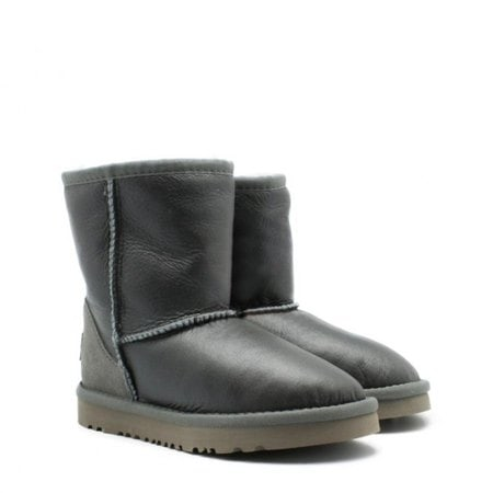 Угги UGG Kids Classic Short Metallic Grey