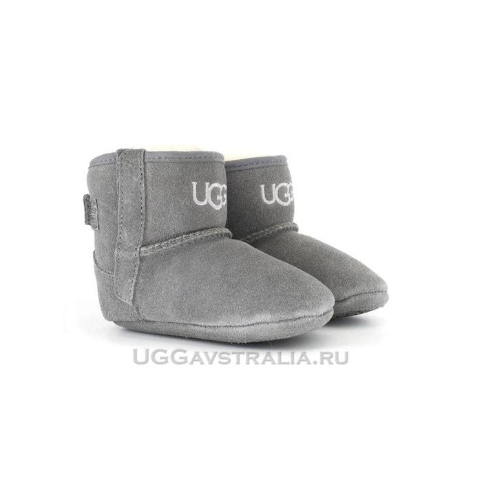 Детские пинетки UGG Baby Jesse II Bootie Grey