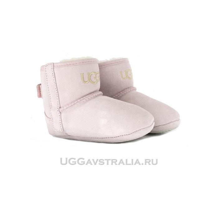 Детские пинетки UGG Baby Jesse II Bootie Pink