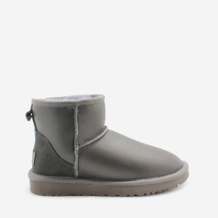 Угги UGG Classic Mini Metallic Grey