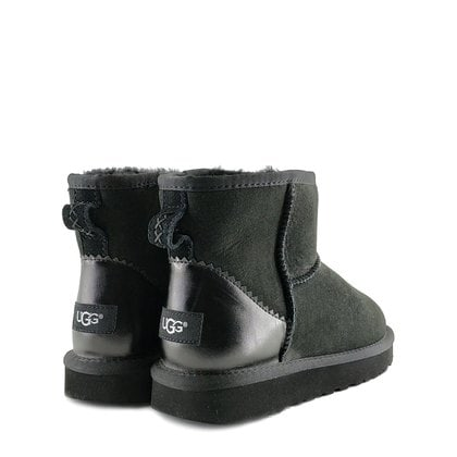 Угги UGG Classic Mini II Metallic Black