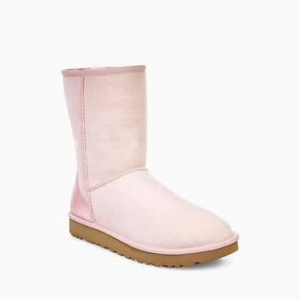 Угги UGG Classic Short II Metallic Seashell Pink