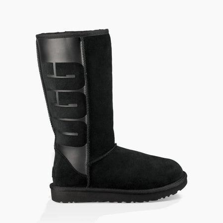 Угги UGG Classic Tall Rubber Boot Black