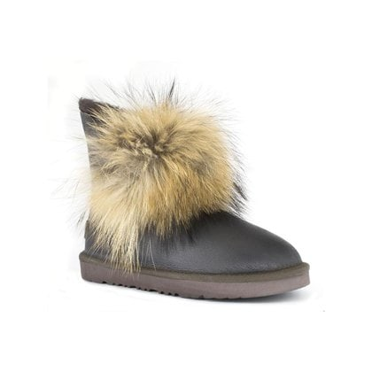Угги UGG Fox Gen II Metallic Chocolate