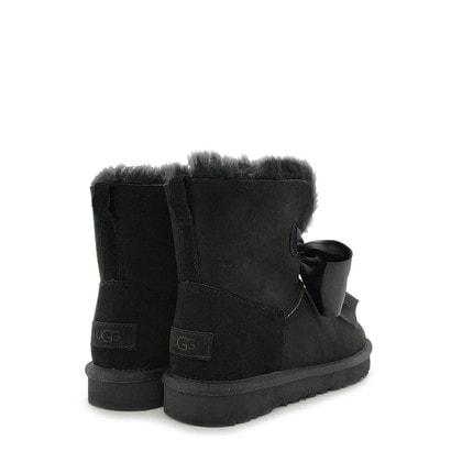Угги UGG Gita Bow Mini Boot Black