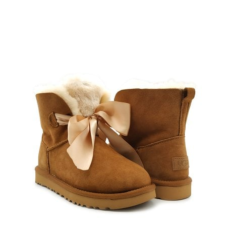 Угги UGG Gita Bow Mini Boot Chestnut