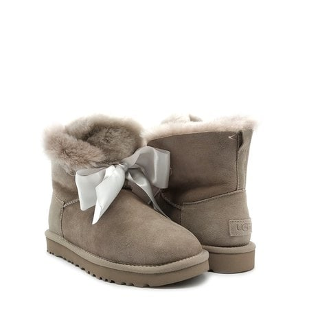 Угги UGG Gita Bow Mini Boot Seal