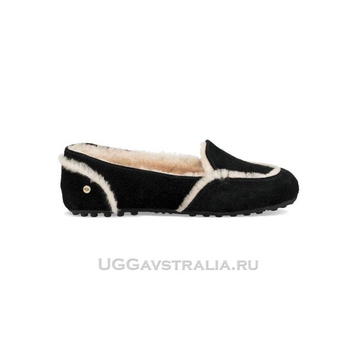 Женские мокасины UGG Hailey Loafer Black