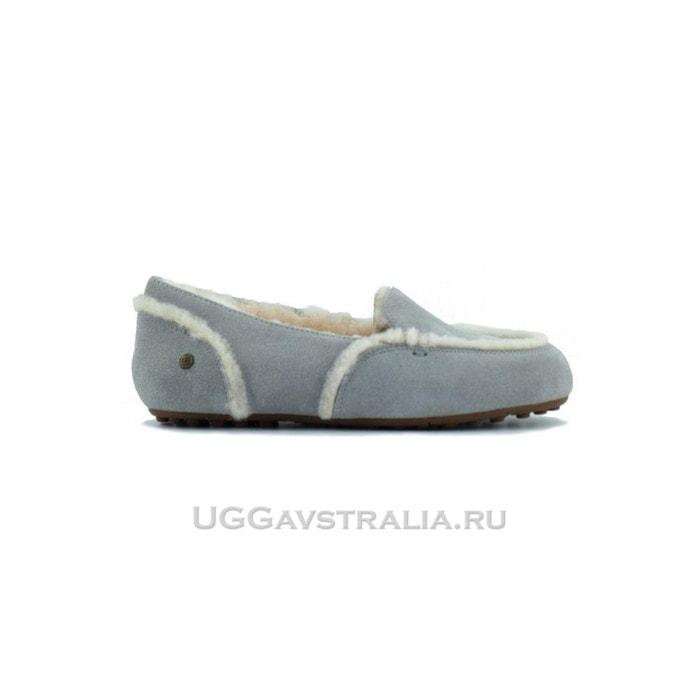 Женские мокасины UGG Hailey Loafer Light Grey