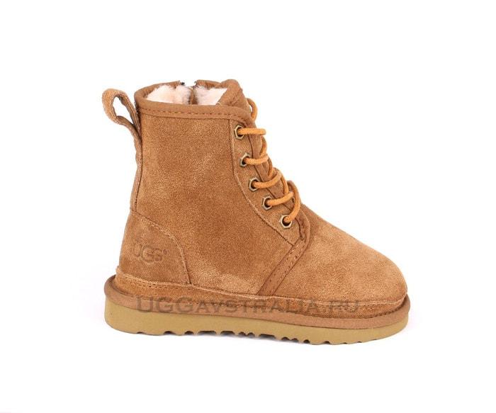 Детские ботинки UGG Kids Harkley Boots Chestnut