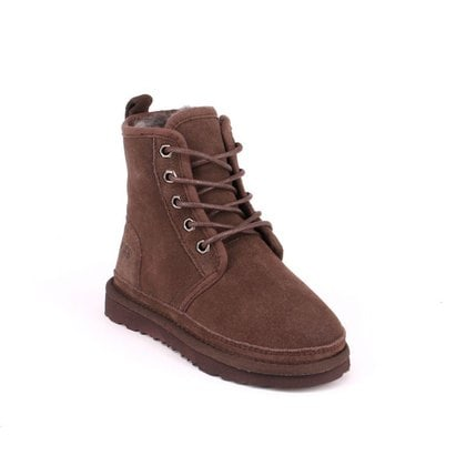 Ботинки UGG Kids Harkley Boots Chocolate